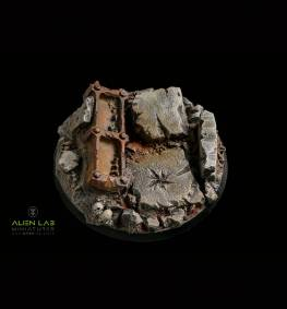 URBAN RUBBLE ROUND BASES 60MM