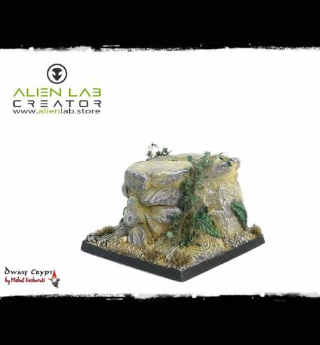 Dwarf Kingdom Square Bases 50mm