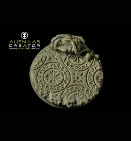ANCIENT RUINS ROUND BASES 50MM #1
