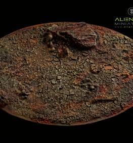 WASTELAND BASES OVAL 120MM