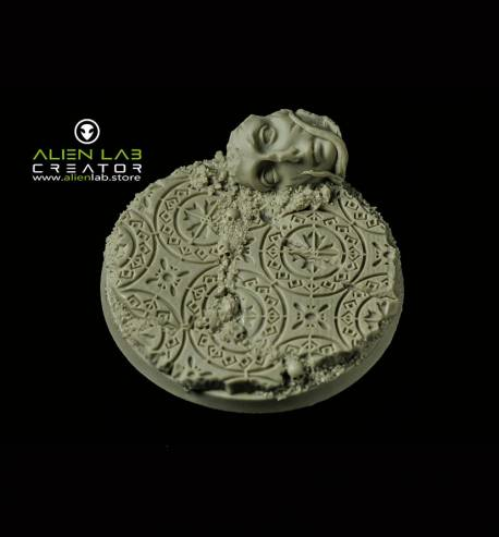 ANCIENT RUINS ROUND BASES 60MM