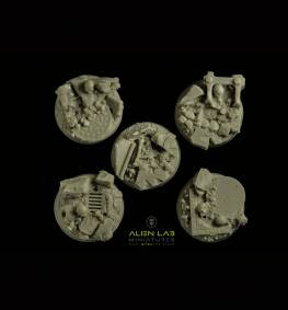 URBAN RUBBLE ROUND BASES 25MM #2