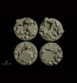 URBAN RUBBLE ROUND BASES 32MM