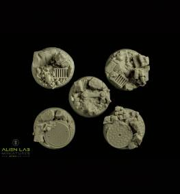 URBAN RUBBLE ROUND BASES 25MM